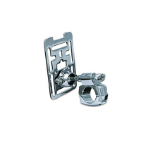 "Kuryakyn K1680 Accessory Mount for 1"" bars Chrome Custom/Metric (Each)"