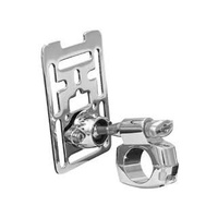 "Kuryakyn K1681 Accessory Mount 1-1/4"" bars Chrome Custom/Metric (Each)"
