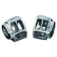 Kuryakyn K1747 Switch Housings Chrome FXST'11up&FXD'12up