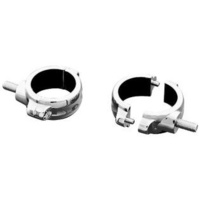 Kuryakyn K2287 2 Peice Style Fork Clamps all 49mm Fork Tubes