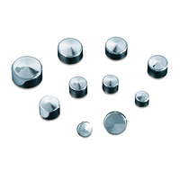 "Kuryakyn K2441 Kool Kaps 5/16"" Socket Head Bolt Dome Cap Chrome (10 Pack)"