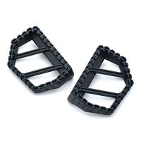 Kuryakyn K3597 Riot Mini Boards Without Adapters Satin Black