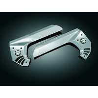 Kuryakyn K3911 Boomerang Frame Covers with Scuff Protectors Chrome GL1800'01up &F6B