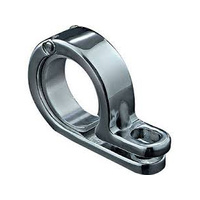 "Kuryakyn K4018 P-Clamp 7/8"" - 1"" Chrome (Each)"
