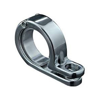 "Kuryakyn K4019 P-Clamp 1 3/8"" - 1 1/2"" Chrome"