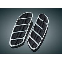 Kuryakyn K4396 Kinetic Inserts for H-D Swept Wing Driver Boards Chrome