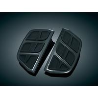 Kuryakyn K4399 Kinetic Inserts for H-D D-Shaped Passenger Boards Black
