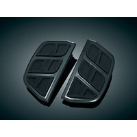 Kuryakyn K4399 Kinetic Inserts for H-D D-Shaped Passenger Boards Black