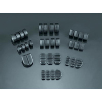 Kuryakyn K4408 Replacement Rubber Pads for Retro Footpeg (4 Rubbers for 2 Pegs) to suit Harley - CC2E