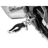 Kuryakyn K4416 Flamin' Pegs with Male Mount Adapters Chrome