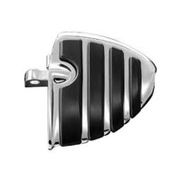 Kuryakyn K4450 ISO Wing Mini Boards with Male Mount Adapters Chrome