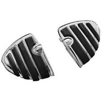 Kuryakyn K4452 ISO Wing Mini Boards without Adapters Chrome (Pair)