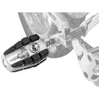 Kuryakyn K4470 Zombie Pegs with Male Mount Adapters Chrome