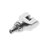 Kuryakyn K4568 Serrated Replacement Clevis with Hardware Chrome