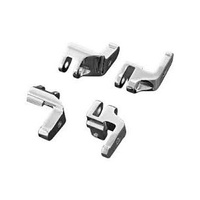 Kuryakyn K4588 Driver Floorboard Relocation Brackets for FLH'97-13 (Exc'15up CVO Models)