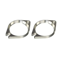 Kuryakyn K467 Wild Things Intake Flanges for Stock or Screamin Eagle Heads - CC2E