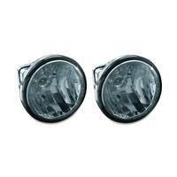 """Kuryakyn K5035 3"""" LED Upgrade Lamps for Driving Lights White"""