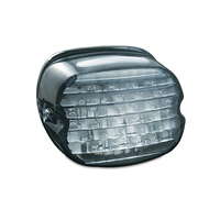 Kuryakyn K5468 Low Profile ECE LED Taillight Smoke with License Illumination Smoke (ECE Approved)