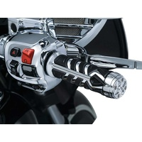 "Kuryakyn K5636 Spear Grips Chrome for 7/8"" Handlebar"
