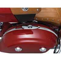 Kuryakyn K5670 Saddlebag Top Trim Chrome Indian 14-up