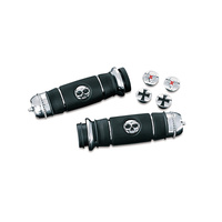 Kuryakyn K6291 Transformer Grips for Dual Cable Throttle Chrome 82-16 (Pair)