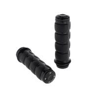 Kuryakyn K6337 ISO Handgrips Black for Triumph/Honda