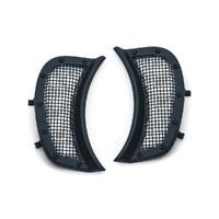 Kuryakyn K6519 Mesh Headlight Vent Accents Black for Road Glide 15-Up