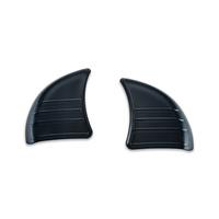 Kuryakyn K6979 Tri-Line Inner Fairing Cover Plates Black FLHX 14-up (Pair)