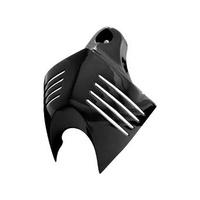 Kuryakyn K7204 V-Shield Horn Cover Gloss Black Suit 92-16