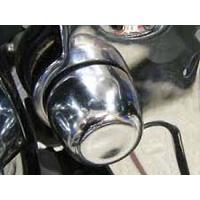 Kuryakyn K7258 Swingarm Pivot Covers Chrome Softail 08-16 (Pair)