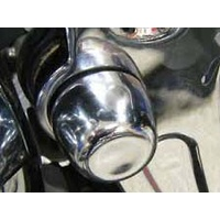 Kuryakyn K7258 Swingarm Pivot Covers Chrome Softail 08-16 (Pair)