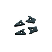 Kuryakyn K7512 Replacement Rubbers for Mini Dagger Pegs Black