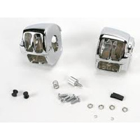 Kuryakyn K7808 Switch Housings Chrome 96-UP Dyna Softail Sportster V-ROD