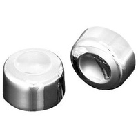 Kuryakyn K7849 Swingarm Pivot Bolt Covers Chrome Softail Models 00-07 (Pair)
