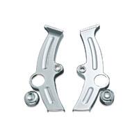 Kuryakyn K7851 Boomerang Frame Covers Chrome for Softail 00-07
