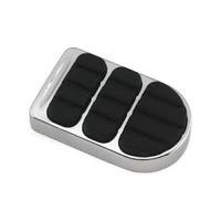 Kuryakyn K8029 ISO Brake Pedal Pad Chrome for FX & XG - CC1I
