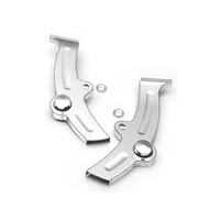Kuryakyn K8188 Boomerang Frame Covers Chrome FXST & FLST Softails 86-99 (Pair)