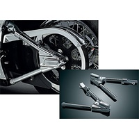 Kuryakyn K8256 Swingarm Covers Chrome Big Twin'00-07