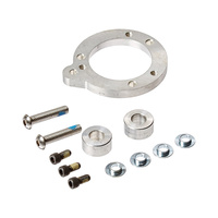 Kuryakyn K8525 Adapter for S&S E or G Carburetors Raw Big Twin'93up w/Breather