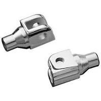 Kuryakyn K8805 Tapered Peg Adapters Chrome for Indian & Victory (Pair)