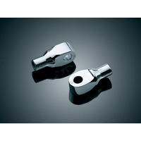 Kuryakyn K8820 Tapered Peg Adapters Chrome for Suzuki (Pair)