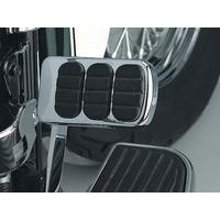 Kuryakyn K8857 Brake Pedal Pad Chrome for Kawasaki, Suzuki & Yamaha
