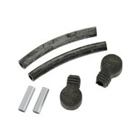 Kuryakyn K8999 Replacement Rubber Boot & Hose Kit for Kuryakyn Crankcase Breather P/N K8518