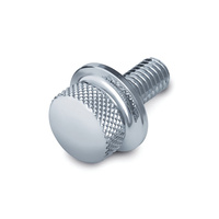 "Kuryakyn K9038 1/4""-20 Knurled Screw Only Chrome"