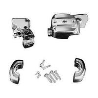 Kuryakyn K9126 Brake & Clutch Control Dress-Up Kit for Single Disc Chrome