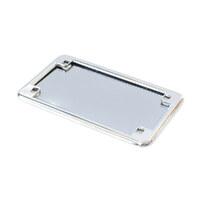"Kuryakyn K9166 Number Plate Frame w/4"" x 7"" Backing Plate Chrome"