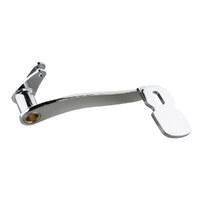 Kuryakyn K9672 Extended Brake Pedal Chrome for '14-'18 Touring & Trike FLH 14-up
