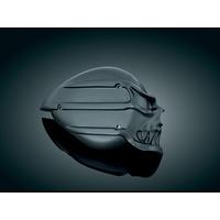 Kuryakyn K9939 Skull Air Cleaner Cover Black for S&S E or G Carburetors - CC2E