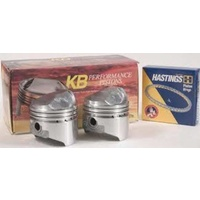 """Keith Black Pistons KB292.050 +.050"""" Dome Top Pistons w/8.2:1 Compression Ratio for Sportster 72-85 w/1000cc Engine"""