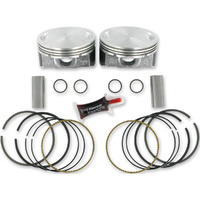 "Keith Black Pistons KB409C.005 Pistons 96 103TC'07up+.005"" 10.0:1"" ""Flat Top"" - Twin Cam BigBore"""
